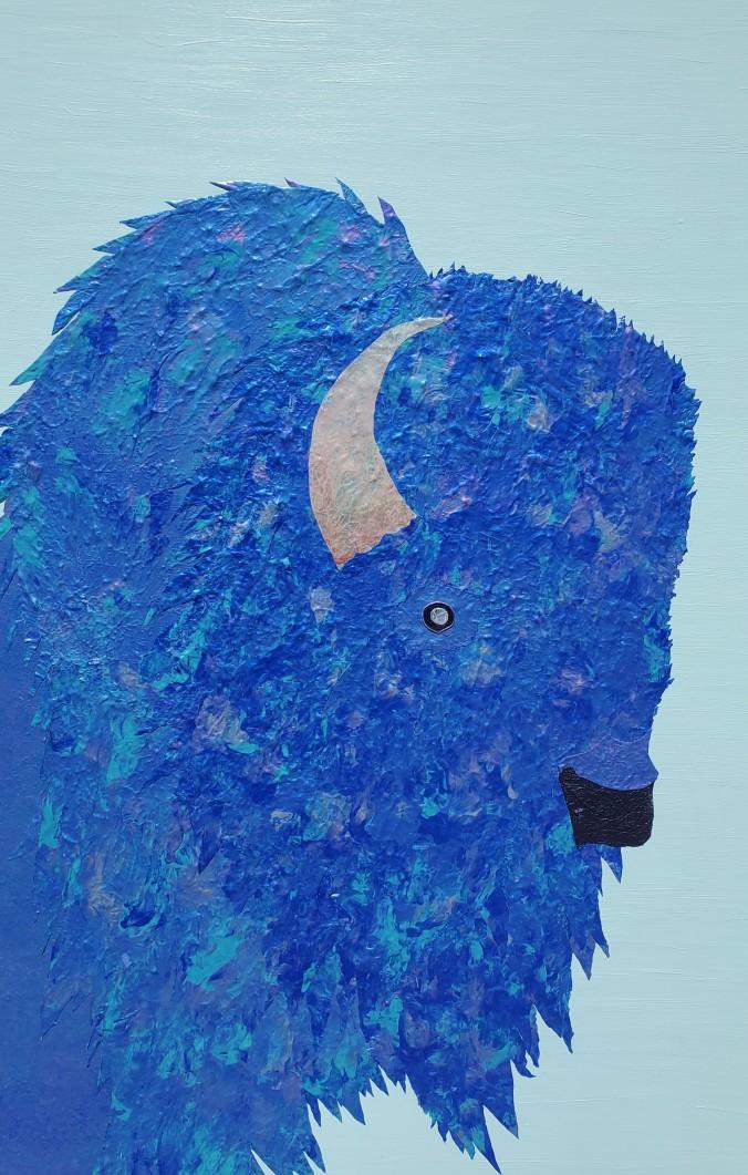 Blue tatanka